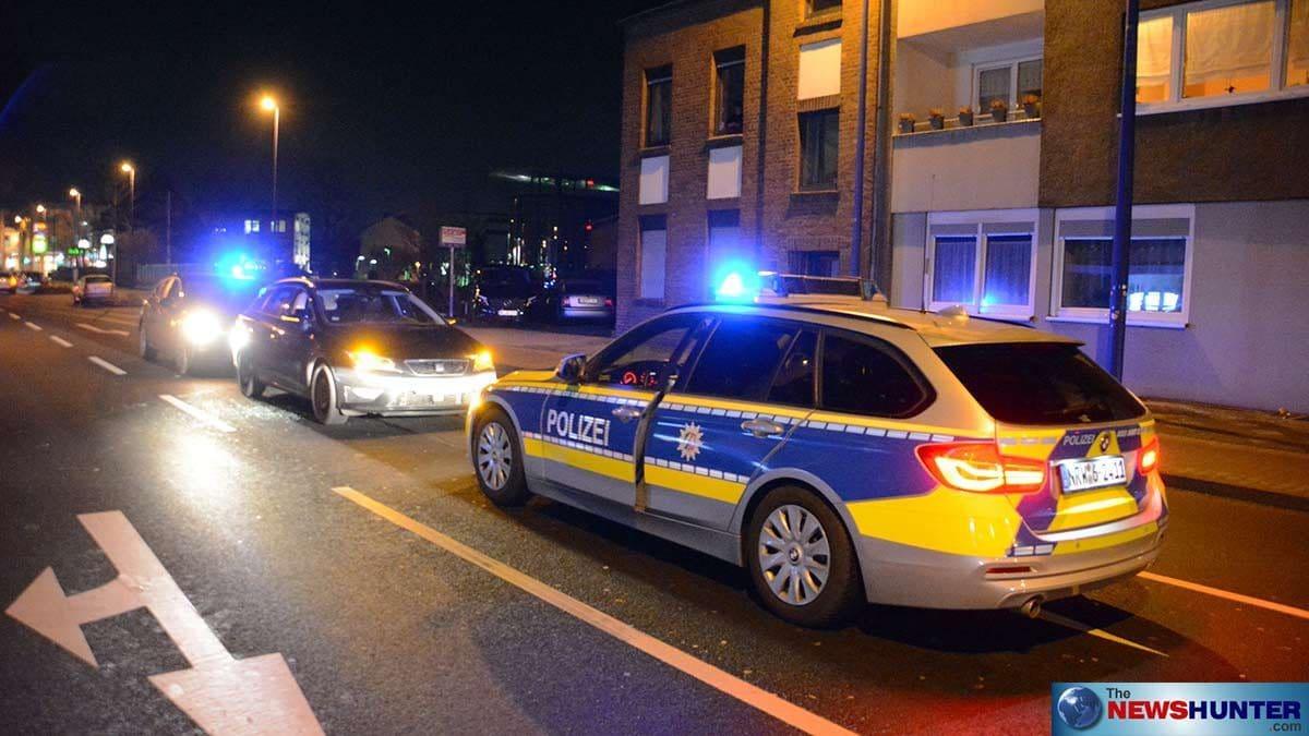 Polizeizugriff in Meerbusch
